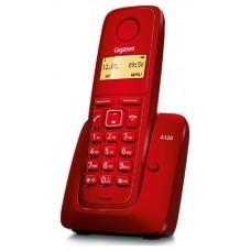 TELEFONO SIEMENS DECT GIGASET A120 ROJO
