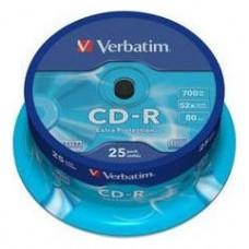 CD VERBATIM DATALIFE 700MB 25U