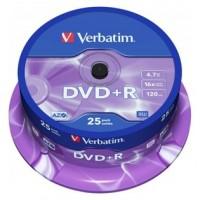 VERBATIM-DVD+R 4.7GB 25U