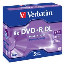 VERBATIM-DVD+R DC 8.5GB 5U