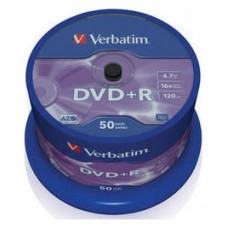 VERBATIM-DVD+R 4.7GB 50U