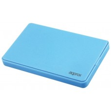 "CAJA EXTERNA USB 2.5"""" SATA SCREWLESS LIGHT BLUE APPROX"