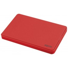 "CAJA EXTERNA USB 2.5"""" SATA SCREWLESS RED APPROX"