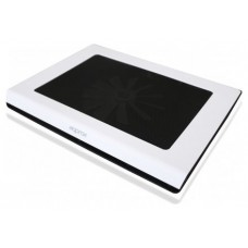 "LAPTOP COOLER PAD WHITE 15.6"""" 2 LEDS APPROX"