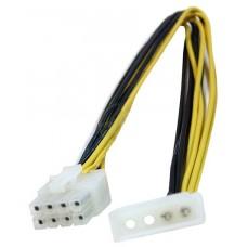 CABLE ALIMENTACION 4 PIN-M 8 PIN PCI-E