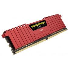 DDR4 4 GB 2400 VENGEANCE LPX RED CORSAIR