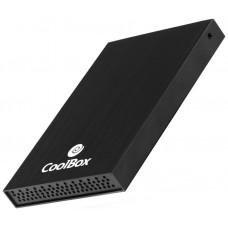 "CAJA EXTERNA HDD 2.5"""" USB2.0 2512 NEGRO COOLBOX"