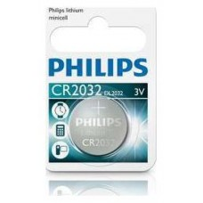 PILAS PHILIPS-CR2032/01B