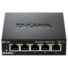 D-LINK SWITCH 5 PUERTOS 10/100/1Gbit METALICO