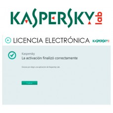 KASPERSKY ANTIVIRUS 2020 1 Lic. Renovacion ELECTRONICA