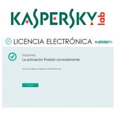 KASPERSKY ANTIVIRUS 2020 3 Lic. ELECTRONICA