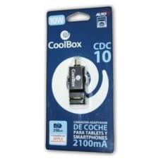 CARGADOR USB COCHE CDC-10 COOLBOX