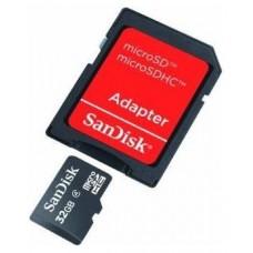 MEMORIA SANDISK MICROSD 32GB