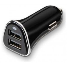 CARGADOR USB COCHE 2xUSB (4A) TOOQ