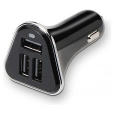 CARGADOR USB COCHE 3xUSB (2A) TOOQ