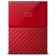 HDD EXTERNO WD 2.5 2 TB 3.0 MY PASSPORT WORLDWIDE RED